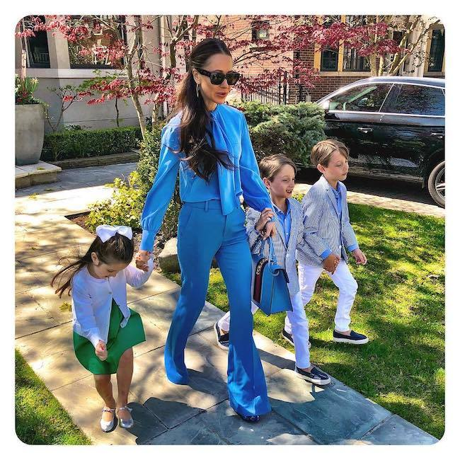 Jessica's husband and three children are thought to be accompanying her to the wedding