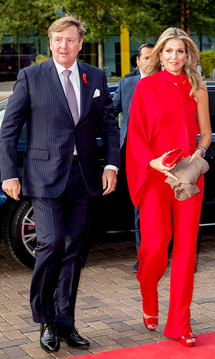 <p>King Willem-Alexander and Queen Maxima stunned while attending the Red Ribbon Concert organized by the AIDS2018 organizations on May 16.</p>