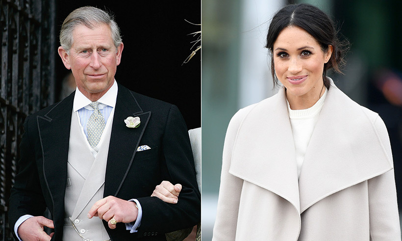 <h2>Prince Charles will walk Meghan down the aisle</h2>
