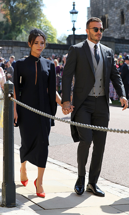 "<p>One of Hollywood's hottest couples, <a href=""https://ca.hellomagazine.com/tags/0/david-beckham""><strong>David</strong></a>and <a href=""https://ca.hellomagazine.com/tags/0/victoria-beckham""><strong>Victoria Beckham</strong></a>, were there to celebrate, too! Naturally, the fashion designer was the picture of elegance in navy gown and red shoes, while her former soccer player hubby looked dapper in a crisp suit.</p>