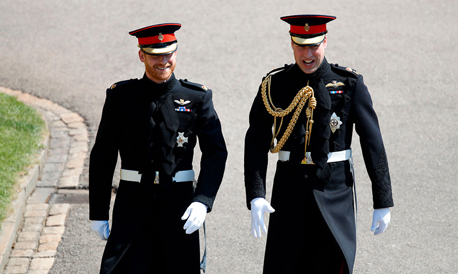 "<p>Prince Harry looked dapper as ever in his military uniform, sided by his big brother, <a href=""https://ca.hellomagazine.com/tags/0/prince-william""><strong>Prince William</strong></a>, who was also decked out to the nines in his own uniform. Back in 2011, Harry was William's best man. Now, his brother has returned the favour.</p>