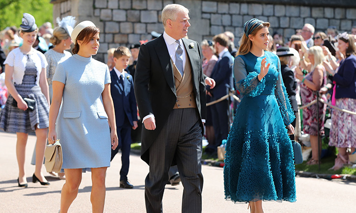Royal Wedding 2018 Princess Beatrice And Eugenie Are Chic As Ever