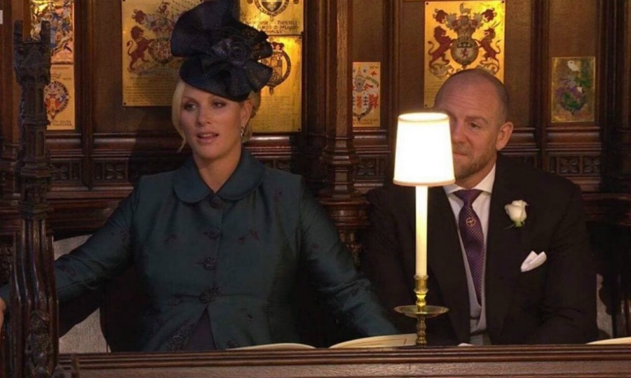 <p>And who could forget this! Perhaps everyone's favorite response to the speech was Zara Tindall, who made no effort to hide her ambiguous feelings. The pregnant royal let her mouth hang open and seemed to put her hands back for support.</p>
