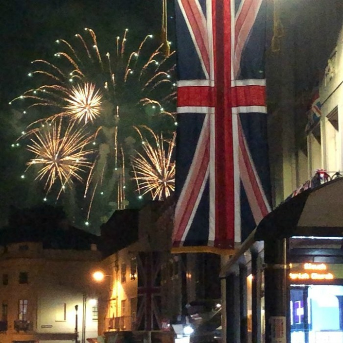 <p>Congratulations to Meghan and Harry! Fireworks were captured by <em>Hello!</em>'s royal correspondent, Emily Nash, on video, and she shared their sweet significance to the prince:</p>