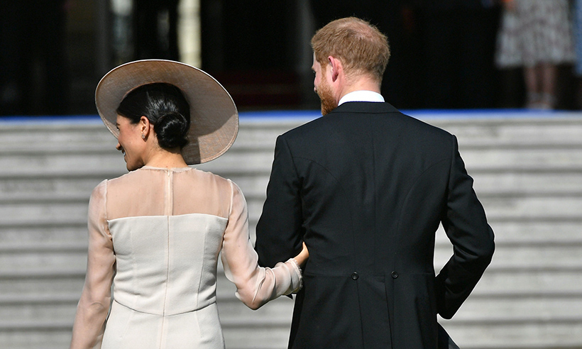 Following their unforgettable weekend in Windsor, which saw Hollywood and British royalty collide, the couple was all smiles as Harry escorted Meghan around her first formal garden party.