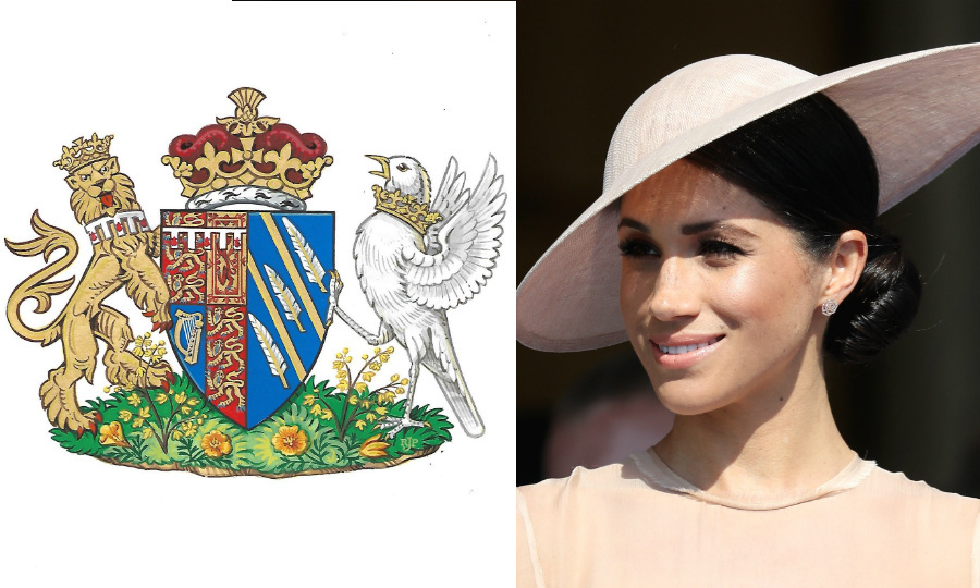 The Special Meaning Behind Meghan Markles Official Coat Of Arms