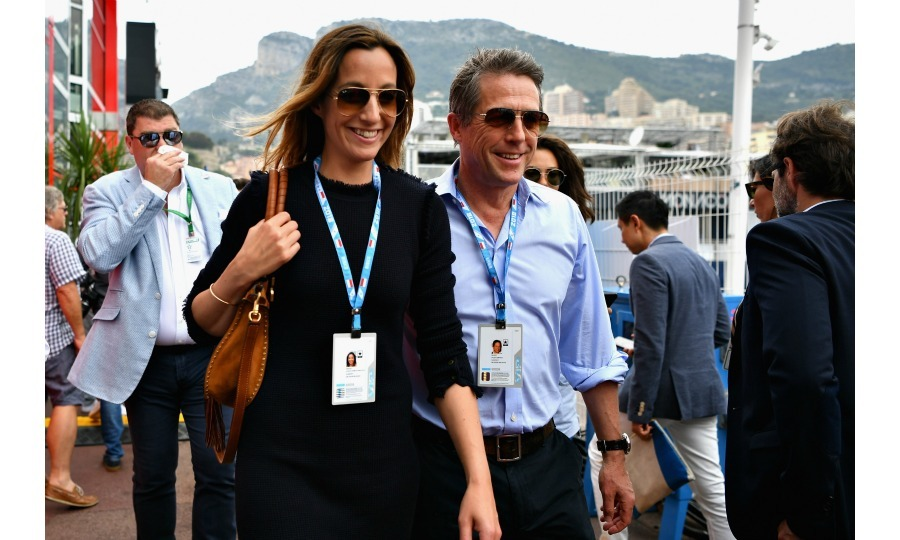 A buzzworthy moment was the arrival of newlyweds Hugh Grant and Anna Eberstein. Their attendance at the event was especially noteworthy as the actor had gotten married to his longtime girlfriend in England just two days prior.