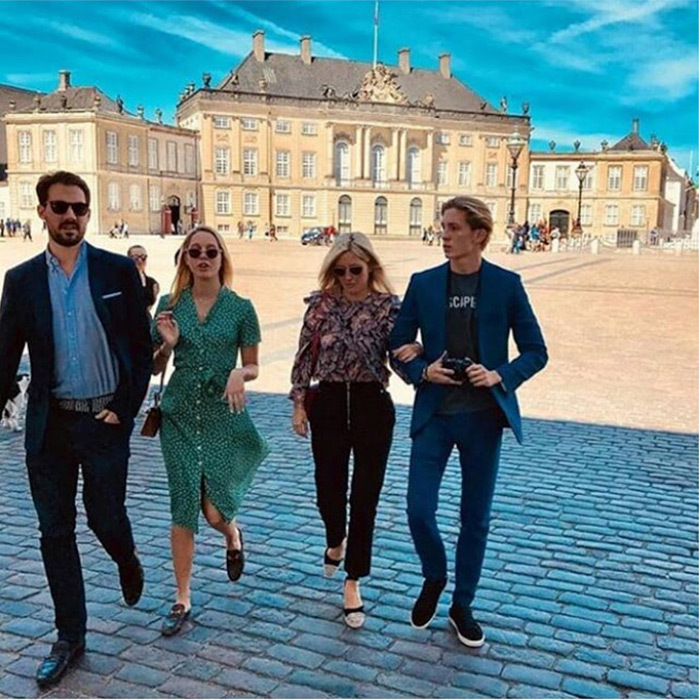 <p>Prince Pavlos of Greece shared a beautiful shot of him and his family as they visited Copenhagen.