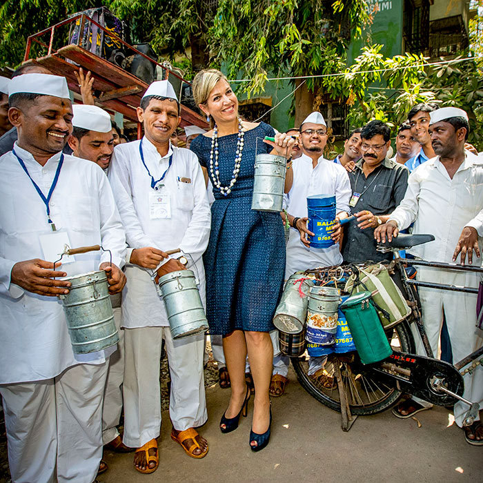 <p><strong>Queen Maxima is currently on a three-day trip to India, representing the United Nations as the organization's Secretary General Special Advocate for Inclusive Finance and Development.</strong>