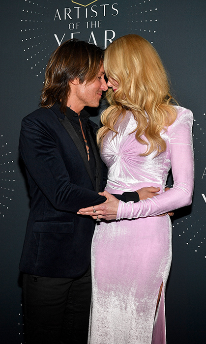 <p>The CMT Artists of the Year Awards was the perfect night out for the loved-up pair in October 2017, where they nestled into each other and showed the world just what being in love looks like on the red carpet. 