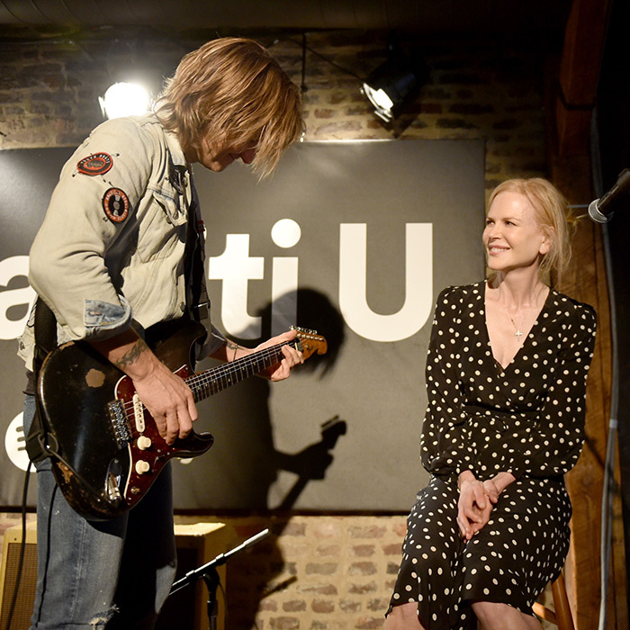 "<p>Hearts melted around the world as Keith serenaded his beautiful wife, who also lent her vocals to his performance of ""Parallel Line"", in Nashville at a 2018 Spotify event.