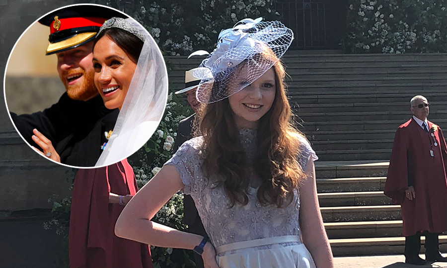 Faith Dickinson Talks Attending Prince Harry And Meghan