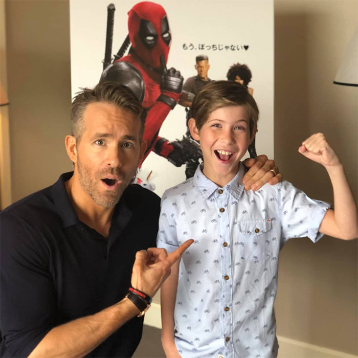 "<p>Ryan Reynolds and Jacob Tremblay had the most adorable meet-up in Japan! The young actor was on the hunt for his favourite Marvel character, Deadpool, and brought his Instagram followers along for the ride. He shared this sweet snap on his social media, captioning it: ""I FOUND HIM!!! If you can believe it you can achieve it!!! #TheHuntForDeadpool #MissionAccomplished Thanks @VancityReynolds you are the greatest!""