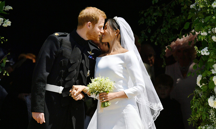 <p>After months of secretly dating, with Megan taking every opportunity to jet to London and Harry holing up in her midtown Toronto home, the couple made their official debut at Prince Harry's Invictus Games in Toronto in September 2017 before announcing their engagement two months later (it happened during a quiet night in while roasting a chicken!)