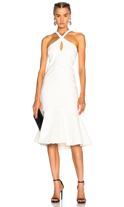 "<strong>Cinq à Sept Dante Dress, $645, <a href=""http://www.fwrd.com/product-cinq-a-sept-dante-dress/CINF-WD33/?d=Womens&fromWeddingShop=true&list=plp-list-8"">fwrd.com</a></strong>"