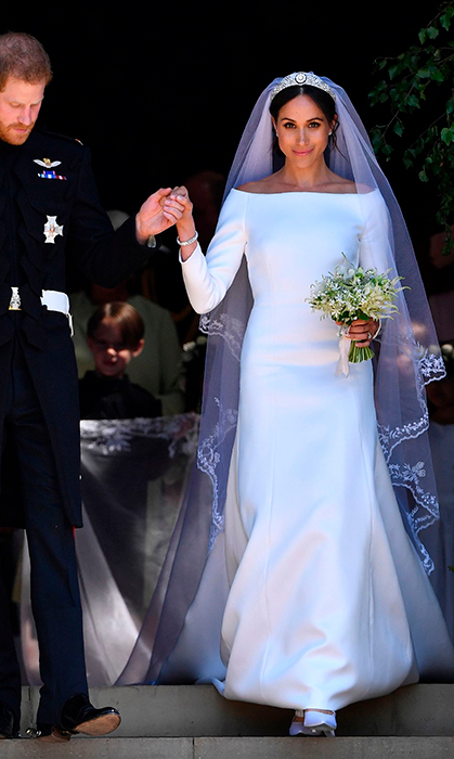 "Almost two weeks have passed since the most anticipated wedding of the year, and we can't stop thinking about the new <a href=""https://ca.hellomagazine.com/tags/0/meghan-markle""><strong>Duchess of Sussex</strong>'s stunning ensembles for her <a href=""https://ca.hellomagazine.com/tags/0/royal-wedding""><strong>royal wedding</strong> to <a href=""https://ca.hellomagazine.com/tags/0/meghan-markle/""><strong>Prince Harry</strong></a>. Meghan showcased her incredible sense of style with <a href=""https://ca.hellomagazine.com/royalty/02018051845136/meghan-markle-royal-wedding-gown-givenchy""><strong>a Givenchy Haute Couture gown helmed by British designer Clare Waight Keller</strong></a>. The bespoke ivory bateau-neckline dress created a simple and sophisticated silhouette. 