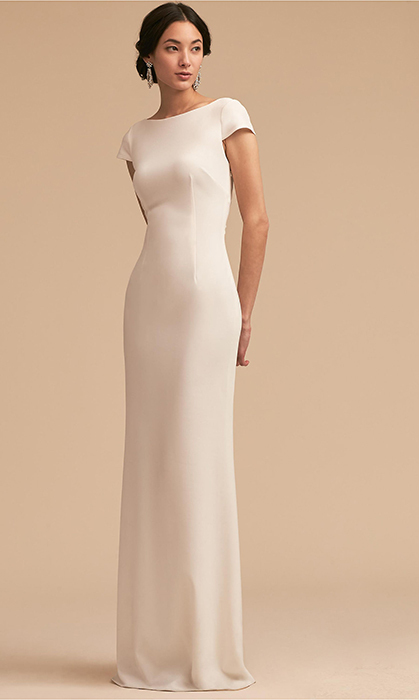 "<strong>Madison Dress, $363, <a href=""https://www.bhldn.com/occasion-dresses-view-all-dresses/madison-dress-charcoal/productoptionids/684d2e65-d9dd-4e39-842b-7d598138234d"">bhldn.com</a></strong>"
