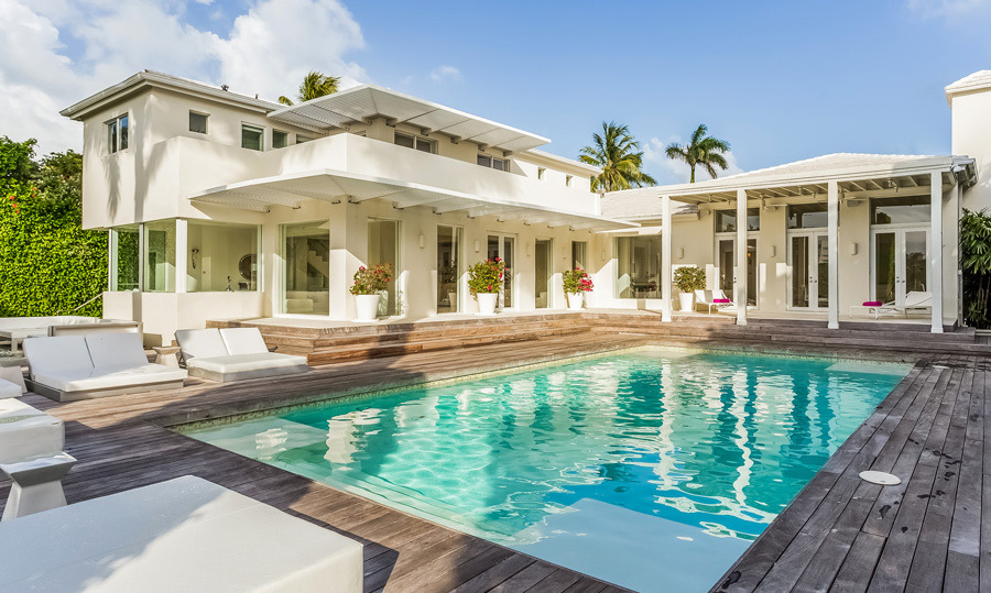 You can never get enough water! The home comes with an in ground pool and plenty of backyard space.