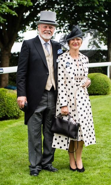 Helen Mirren brought Hollywood to the Epsom Derby on June 2! She dazzled in an incredible polkadot ensemble, alongside her dapper husband, Taylor Hackford.