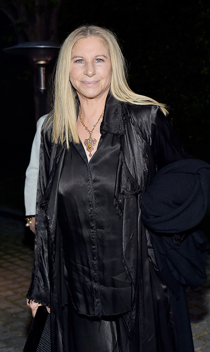 Barbra Streisand was a beauty in black for the star-studded Chanel Dinner Celebrating our Majestic Oceans on June 2 in Malibu.