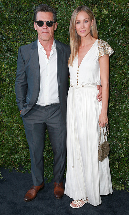 Josh Brolin and Kathryn Boyd oozed cool at the CHANEL benefit event.