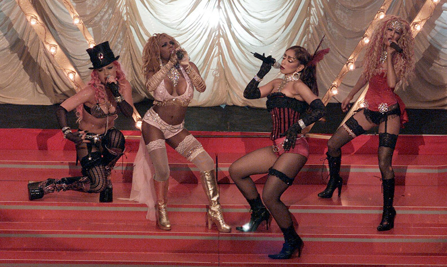 "<strong>Christina Aguilera, Lil Kim, Mya, Pink - ""Lady Marmalade""</strong>