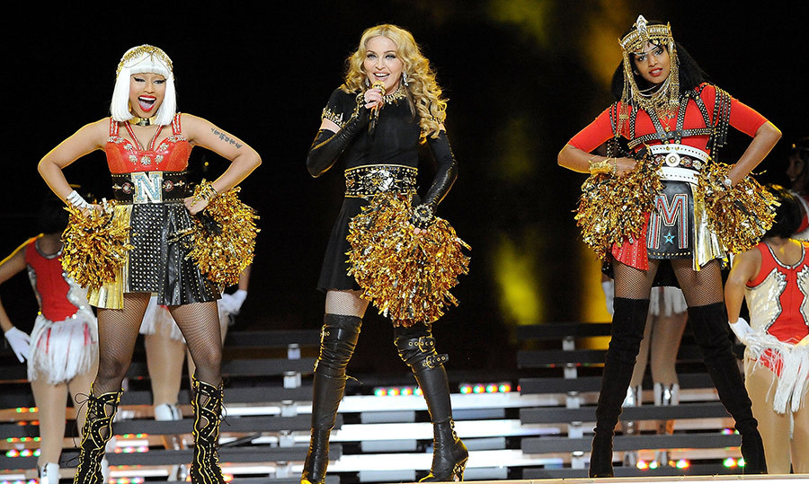 "<strong>Madonna featuring M.I.A. and Nicki Minaj - ""Give Me All Your Luvin'""</strong>