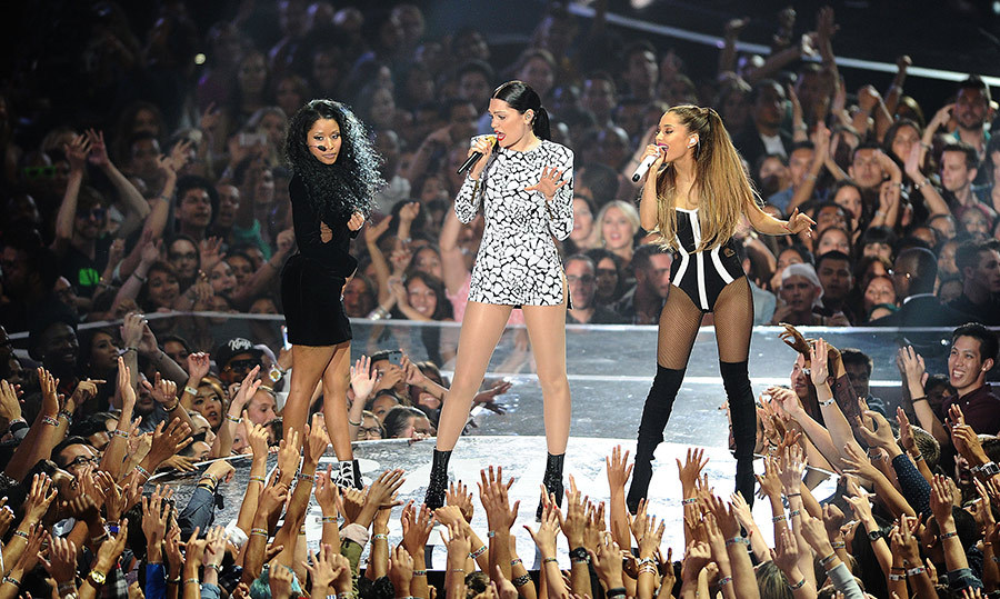 "<strong>Nicki Minaj, Jessie J and Ariana Grande - ""Bang Bang""</strong>