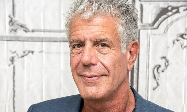 <h2>Anthony Bourdain – June 8</h2>