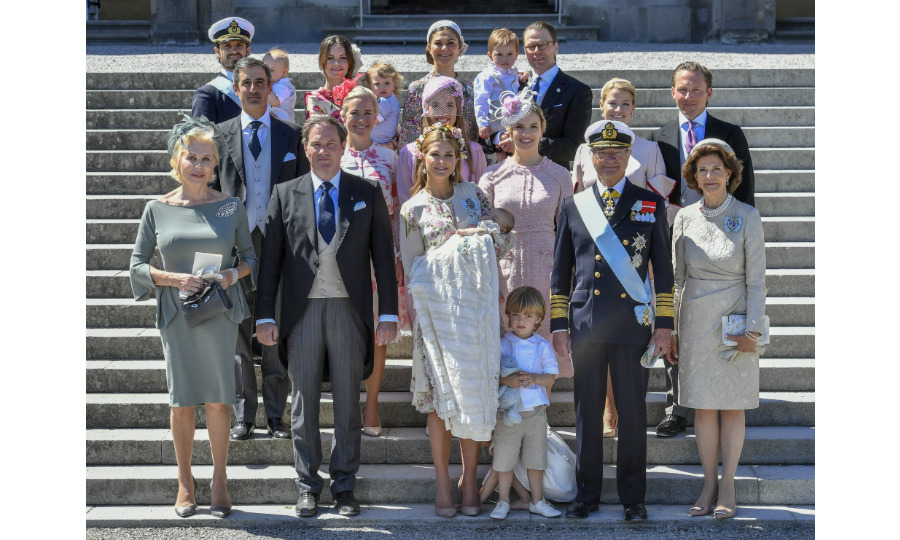 "Sweden's Royal Family marked another milestone on June 8 – the christening of its youngest member, <a href=""https://ca.hellomagazine.com/tags/0/princess-adrienne"" target=""_blank"">Princess Adrienne</a>. The three-month-old daughter of <a href=""https://ca.hellomagazine.com/tags/0/princess-madeleine"" target=""_blank"">Princess Madeleine</a> and Chris O'Neill was the picture of content as she was baptized Adrienne Josephine Alice Bernadotte inside the Royal Chapel at Drottningholm Palace. 