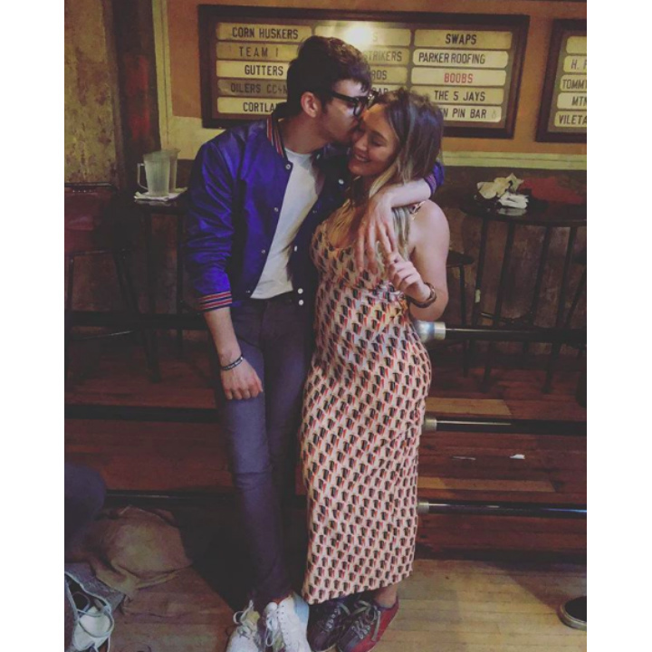 <h2>Hilary Duff and Matthew Koma</h2>