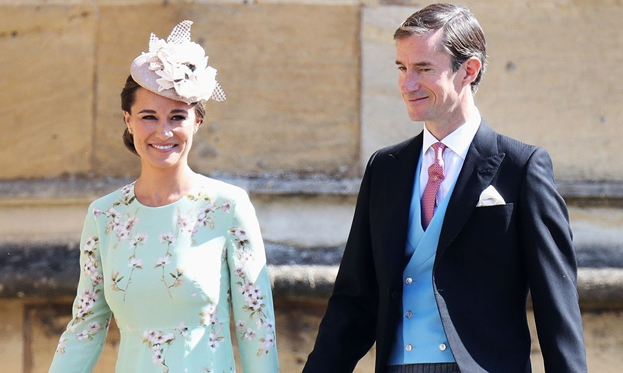 <h2>Pippa Middleton and James Matthews</h2>