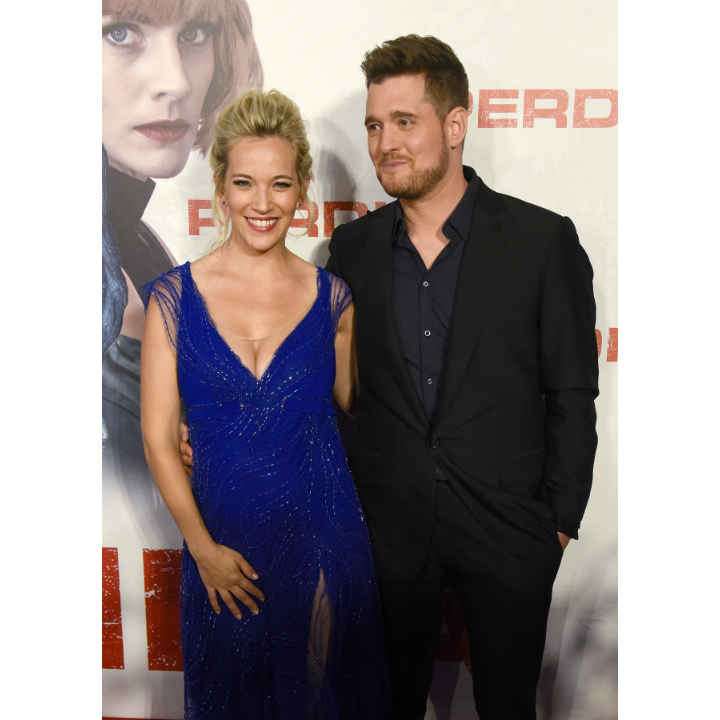 <h2>Michael Buble and Luisana Lopilato</h2>