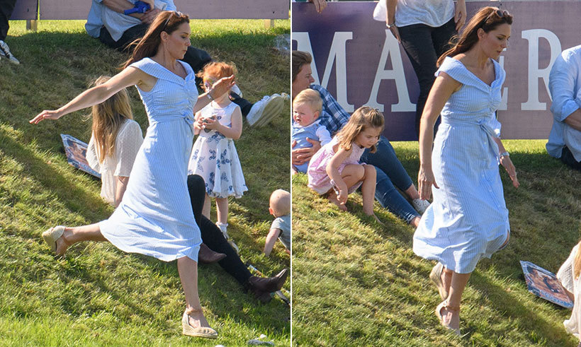 The Duchess of Cambridge enjoyed a lovely day out with her children, Prince George and Princess Charlotte, on June 10. She dazzled in a $70 Zara summer dress and stylish wedge heels for the occasion.