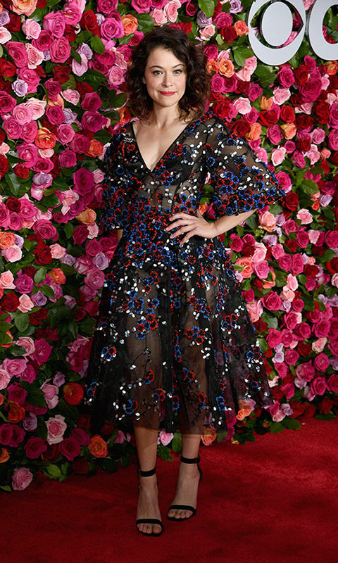 Tatiana Maslany in Zac Posen