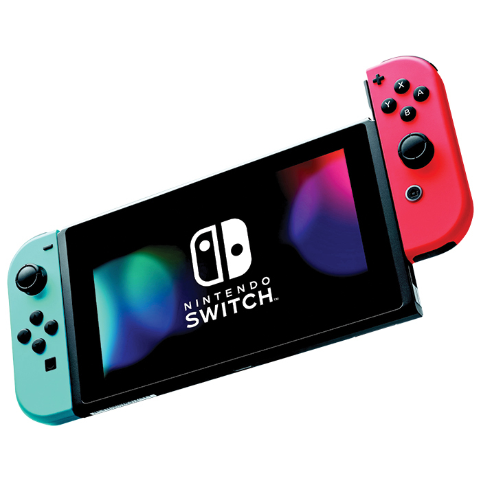 "<strong>Nintendo Switch Console with Neon Red/Blue Joy-Con, $400, <a href=""bestbuy.ca""><em>bestbuy.ca</em></a></strong>"