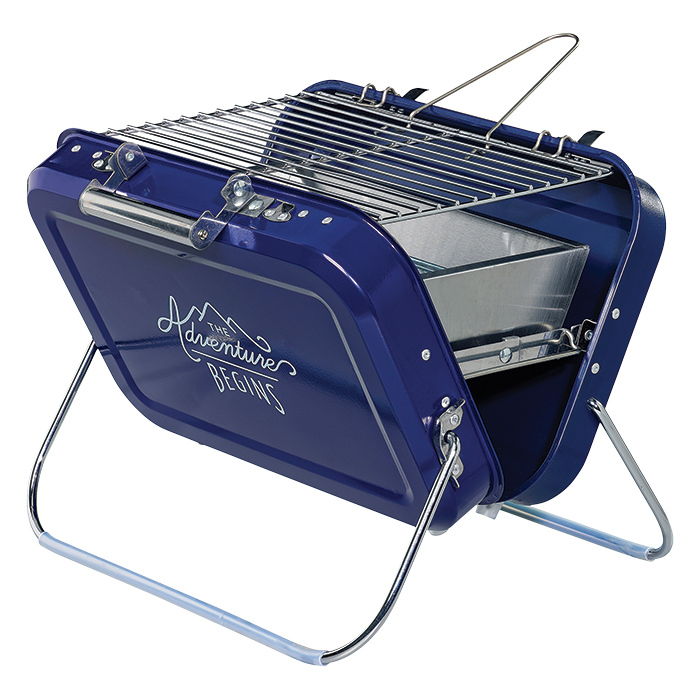 "<strong>Portable BBQ by Gentleman's Hardware, $110, <a href=""indigo.ca><em>indigo.ca</em></a></strong>"