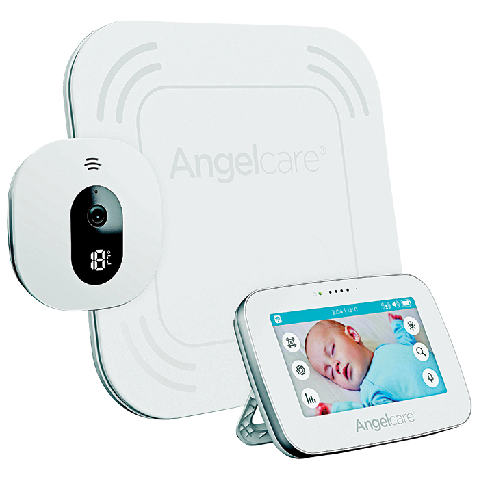 "<strong>Angelcare 4.3"" Baby Breathing & Video Baby Monitor With 2-Way Communication, $280, <a href=""bestbuy.ca""><em>bestbuy.ca</em></a></strong>"