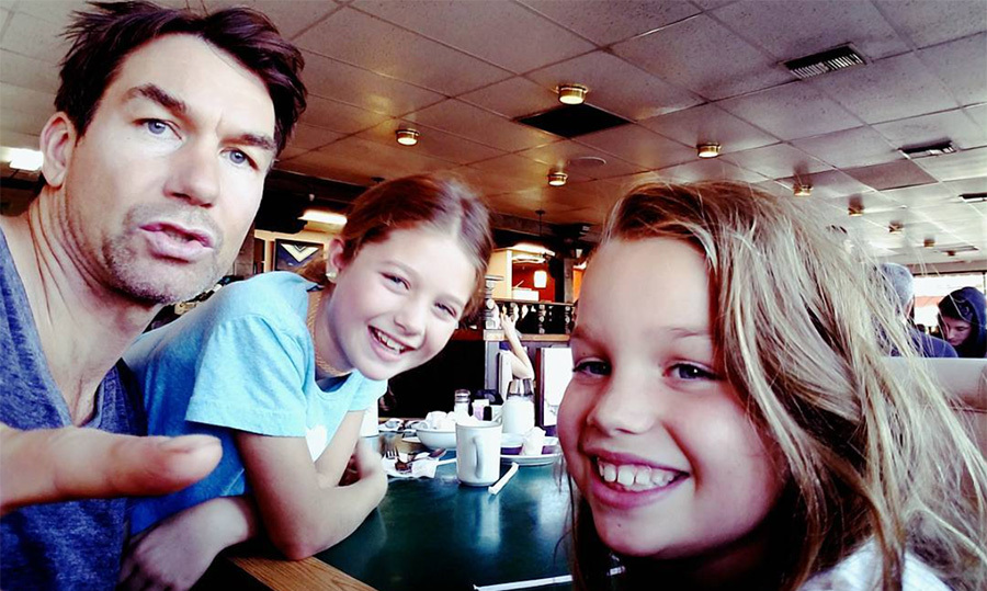 "Another Sunday brunch to get the kids out of the house! Best dad ever? Yep! ""Sunday Morning give Mom a break from these nuts day...""