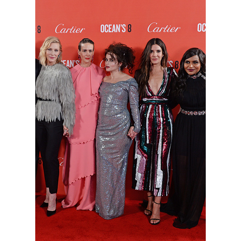 "Another day, another show-stopping <em>Ocean's 8</em> premiere! Stars <a href=""https://ca.hellomagazine.com/tags/0/cate-blanchett""><strong>Cate Blanchett</strong></a>, <a href=""https://ca.hellomagazine.com/tags/0/sarah-paulson""><strong>Sarah Paulson</strong></a>, <a href=""https://ca.hellomagazine.com/tags/0/helena-bonham-carter""><strong>Helena Bonham Carter</strong></a>, <a href=""https://ca.hellomagazine.com/tags/0/sandra-bullock""><strong>Sandra Bullock</strong></a>, <a href=""https://ca.hellomagazine.com/tags/0/mindy-kaling""><strong>Mindy Kaling</strong></a> and <a href=""https://ca.hellomagazine.com/tags/0/rihanna""><strong>Rihanna</strong></a> dazzled on the red carpet at the UK debut on June 13 at Cineworld Leicester Square. Click through for all the details...