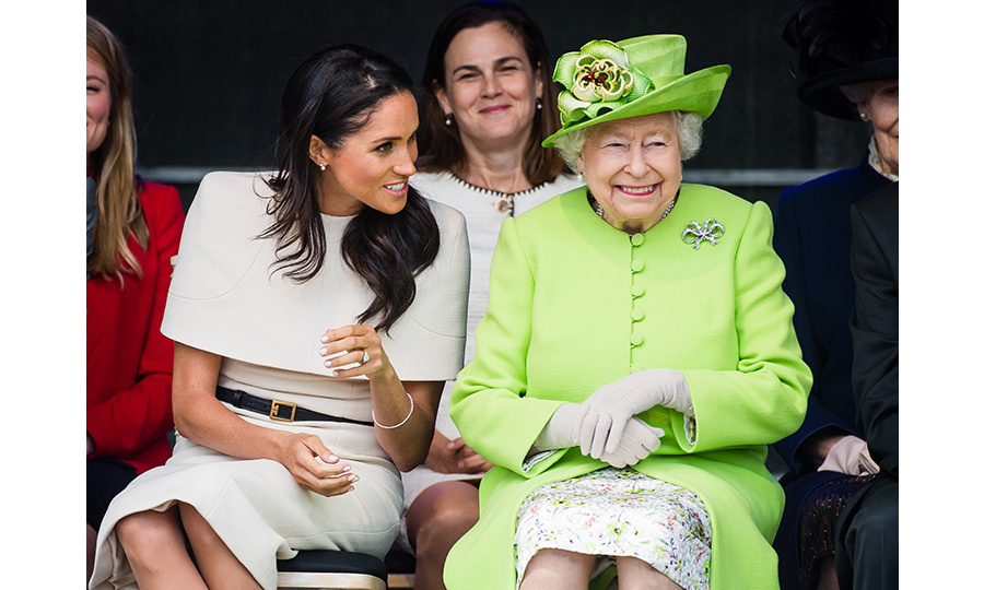 Meghan and the Queen were thick as thieves throughout the Mersey Gateway Bridge opening, where they shared quite a few laughs and beamed in each other's company.