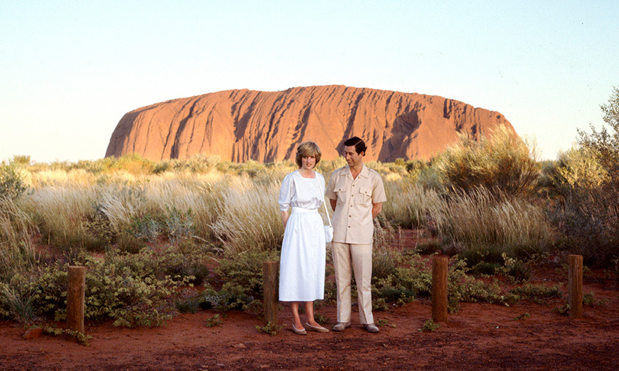 Uluru, or Ayers Rock, is sacred to the indigenous peoples of Australia and is thought to have started forming around 550 million years ago. Diana and Charles – as well as Kate and William during their tour to Australia – took a few iconic photos in front of this beautiful natural formation, a pit stop that the Duke and Duchess of Sussex will also be likely to make.