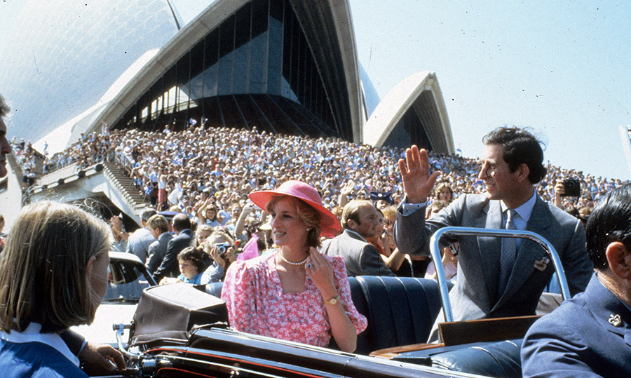 No one goes to Australia without paying a visit to the Sydney Opera House – not even Charles and Diana! Crowds gathered by the thousands outside of the iconic building when the two royals rolled through in their car. We can expect to see a similar turnout when Meghan and Harry visit, and we're crossing our fingers that they'll attend a performance in their fashionable finest.