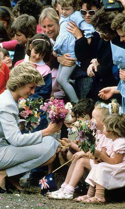 Fewer things are sweeter than a royal walkabout, and Princess Diana was an absolute professional and so amazing at connecting with the children. It's a quality that Meghan shares, so royal watchers have some sweet moments to look forward to when they head Down Under.