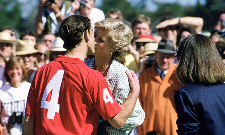 Maybe Prince Harry will follow in his father's footsteps and try his hand at some Australian polo! Prince Charles kissed his wife after a match in Melbourne during their royal tour.