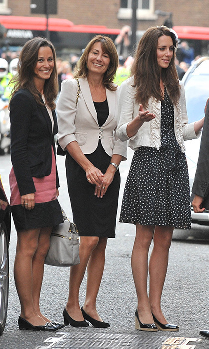<h2>THE FIRST... PRE-WEDDING APPEARANCE WITH THE MOTHER-OF-THE BRIDE</h2>