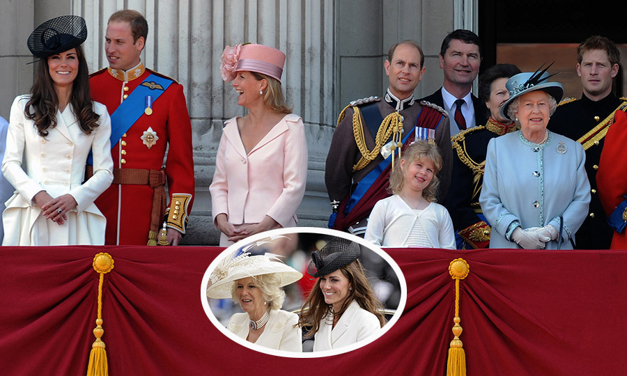 <p>THE FIRST... TROOPING THE COLOUR</p>