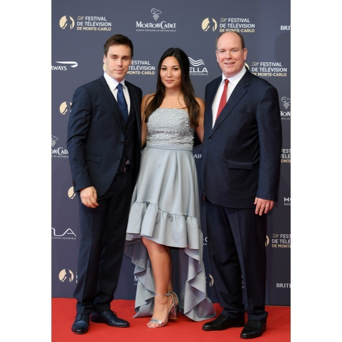 It was a star-studded red carpet for the 58th Monte-Carlo Television Festival on June 15! Monaco royals Louis Ducruet, son of Princess Stephanie of Monaco and grandson of Grace Kelly, brought along his fiancee Marie Chevallier to the opening event at Grimaldi Forum. The beautiful couple were joined by Prince Albert II, the festival's honorary President.