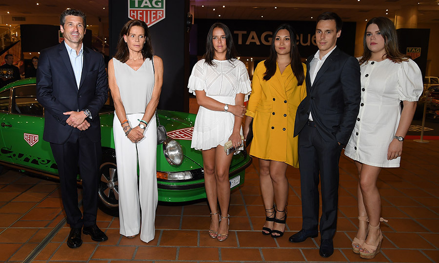<em>Grey's Anatomy</em> star Patrick Hempsey was in the house! The TAG Heuer ambassador met with Princess Grace of Monaco's at an event for the luxury watch company in Monte Carlo. Princess Stephanie was joined by her three children, Pauline Ducruet, Camille Gottlieb and Louis Ducruet – as well as her future daughter-in-law Marie Chevallier, in yellow.