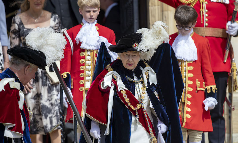 The British Royal Family – including Queen Elizabeth II, Prince William, Prince Edward, the Countess of Wessex and Princess Anne – stepped out for the annual Order of the Garter ceremony. It is the oldest British Order of Chivalry, founded by Edward III in 1348. The Garter ceremonial dates from 1948, when formal installation was revived by King George VI for the first time since 1805.